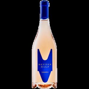 Better Half Rose Marakech, Grenach, Syrah, Mourvedre, mooie fles
