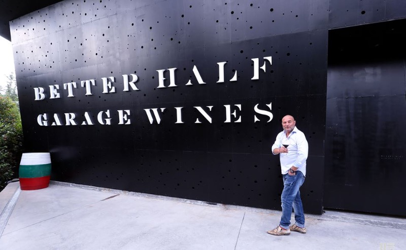 Better Half Garage Wines eigenaar en wijnmaker Nikolay Dalakov