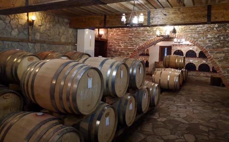 Wijnkelder van Orbelia winery