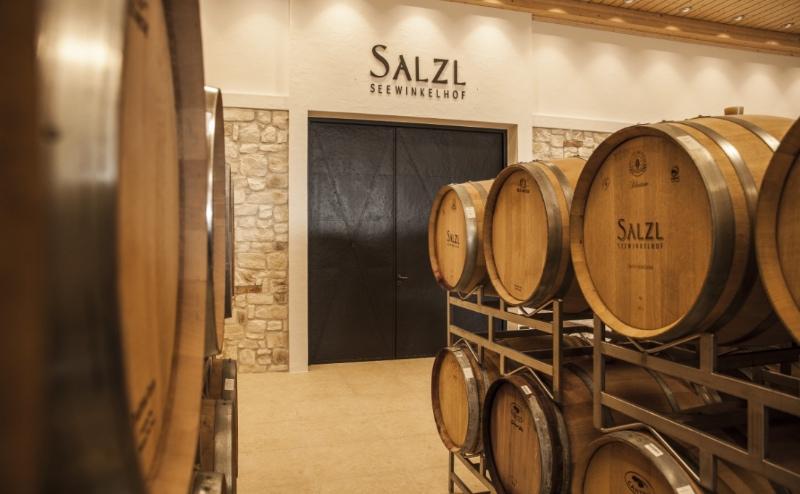 Wijnkelder van Salzl in Burgenland