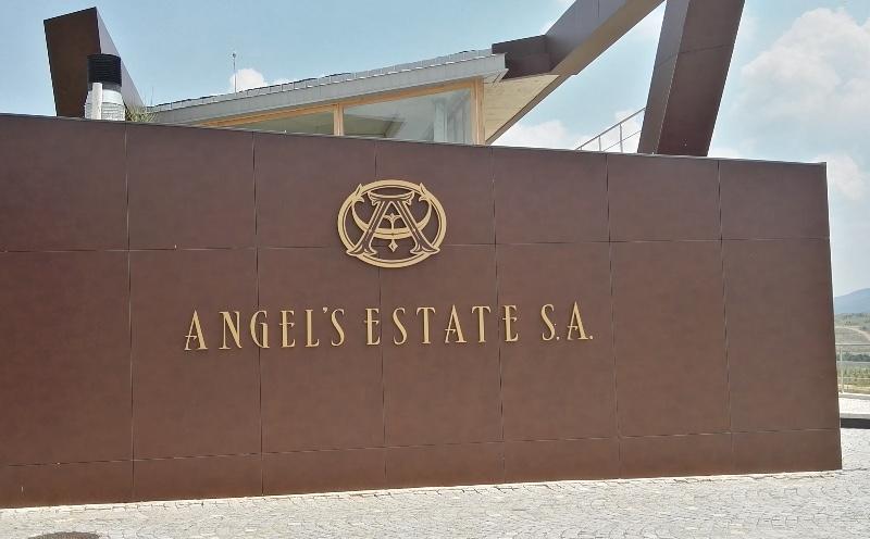 Ingang van domein Angel's Estate