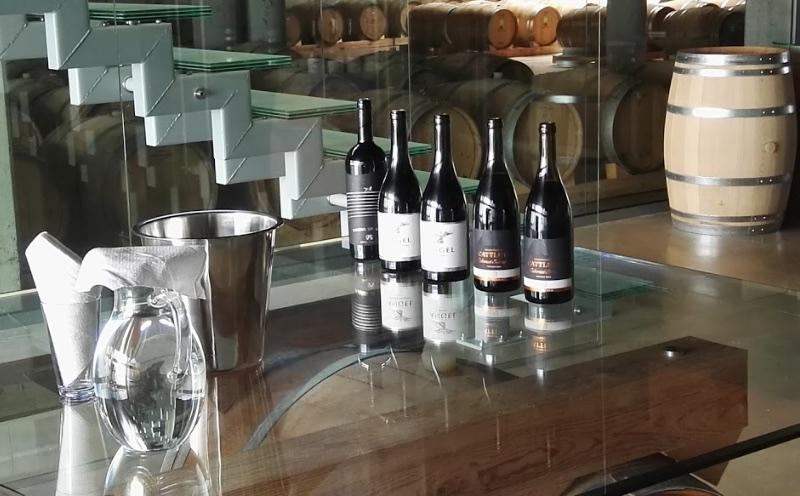 Wijn degustatie bij Angel's Estate