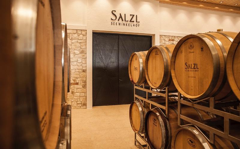 Wijnkelder van Salzl in Oostenrijk