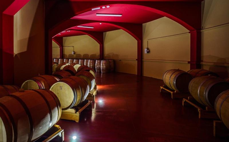 Mooie wijnkelders van Zelanos